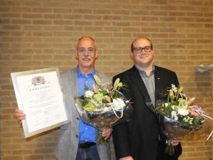 Jan Struik 50 jaar en David van Kwawegen 25 jaar lid