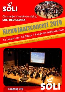 Nieuwjaarsconcert 2019 @ Landvast