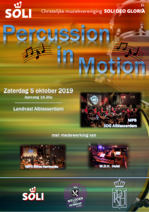 Percussion in Motion™ Alblasserdam @ Cultureel Centrum Landvast