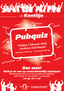Opluisteren pubquiz event (DVN)